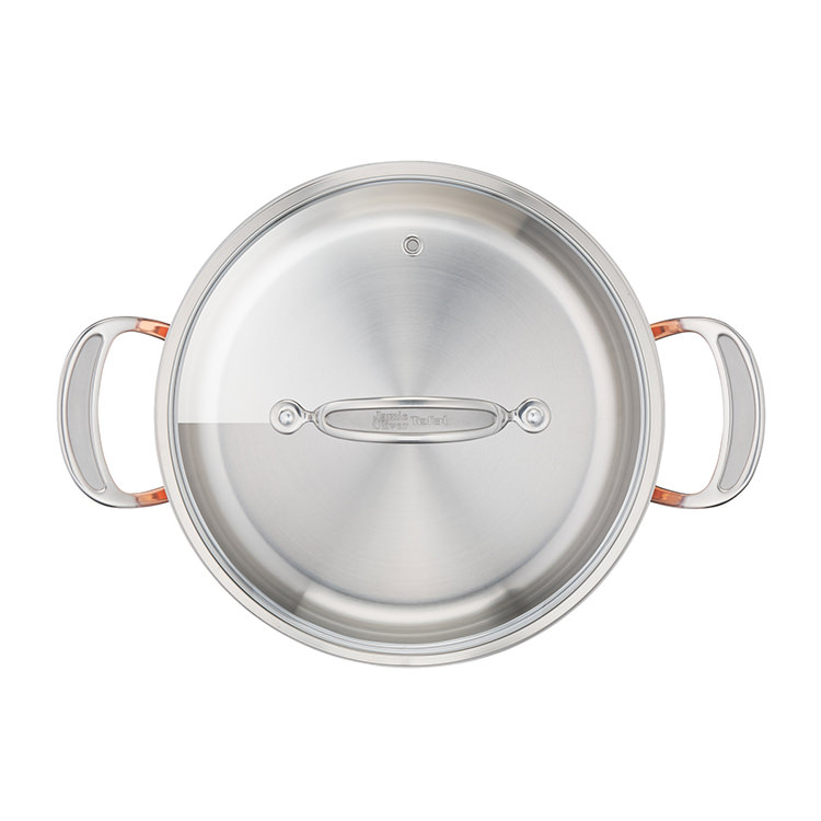 Jamie Oliver Premium Triply Copper Stewpot 24cm