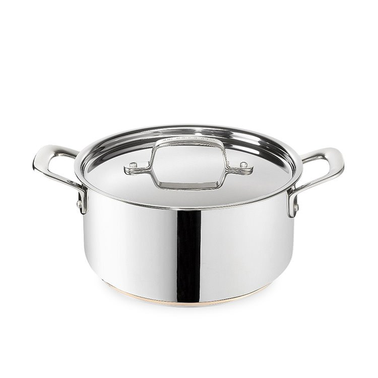 Jamie Oliver Stainless Steel Copper Induction Stewpot 5L