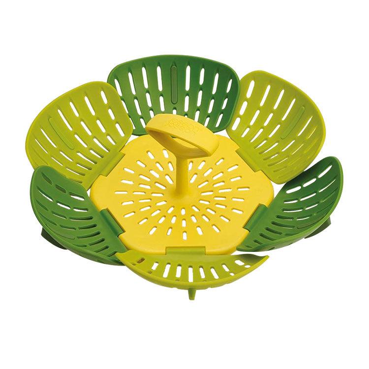 Joseph Joseph Bloom Folding Steamer Basket 15cm Green image #2