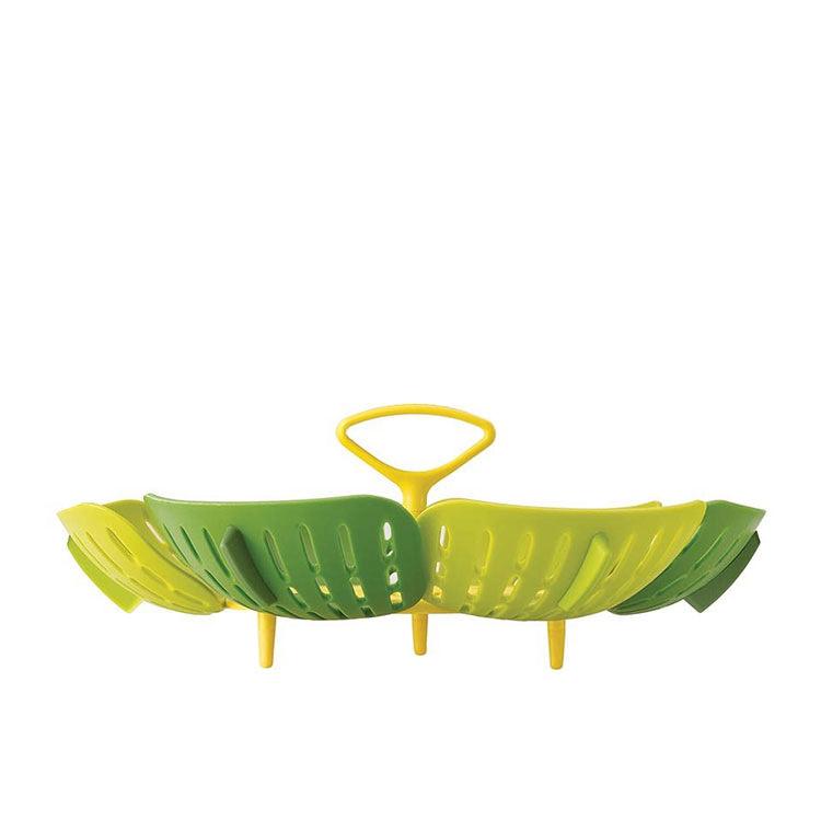 Joseph Joseph Bloom Folding Steamer Basket 15cm Green