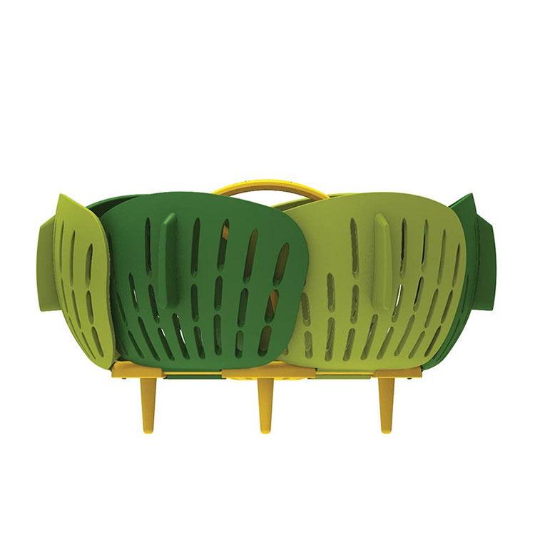 Joseph Joseph Bloom Folding Steamer Basket 15cm Green image #4