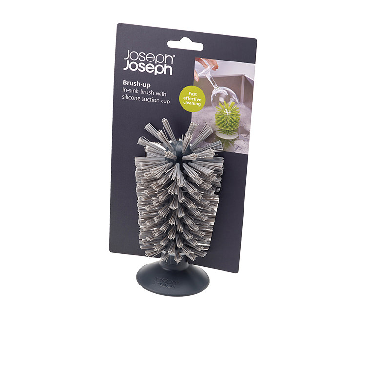 Joseph Joseph Brush-Up In-Sink Brush Grey