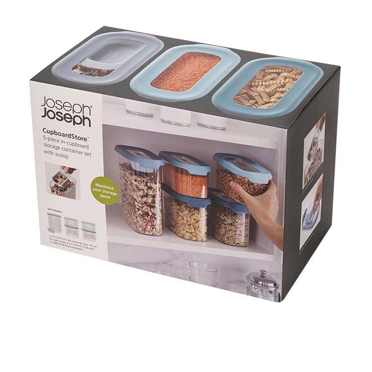 Joseph Joseph CupboardStore 5pc Food Storage Set Opal