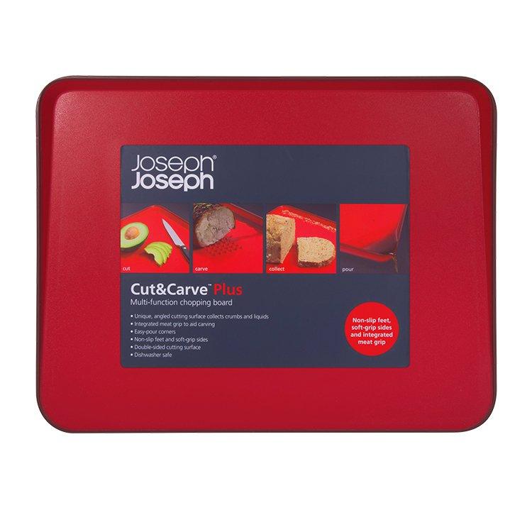 Joseph Joseph Cut & Carve Plus Red 38x30cm image #2