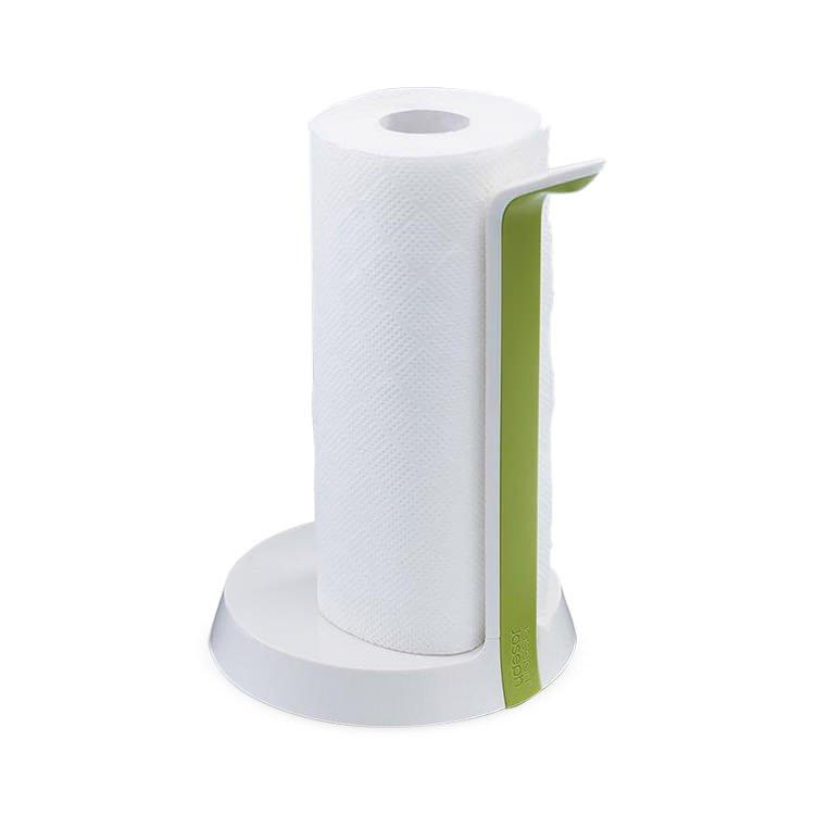 Joseph Joseph Easy Tear Kitchen Roll Holder White/Green image #3
