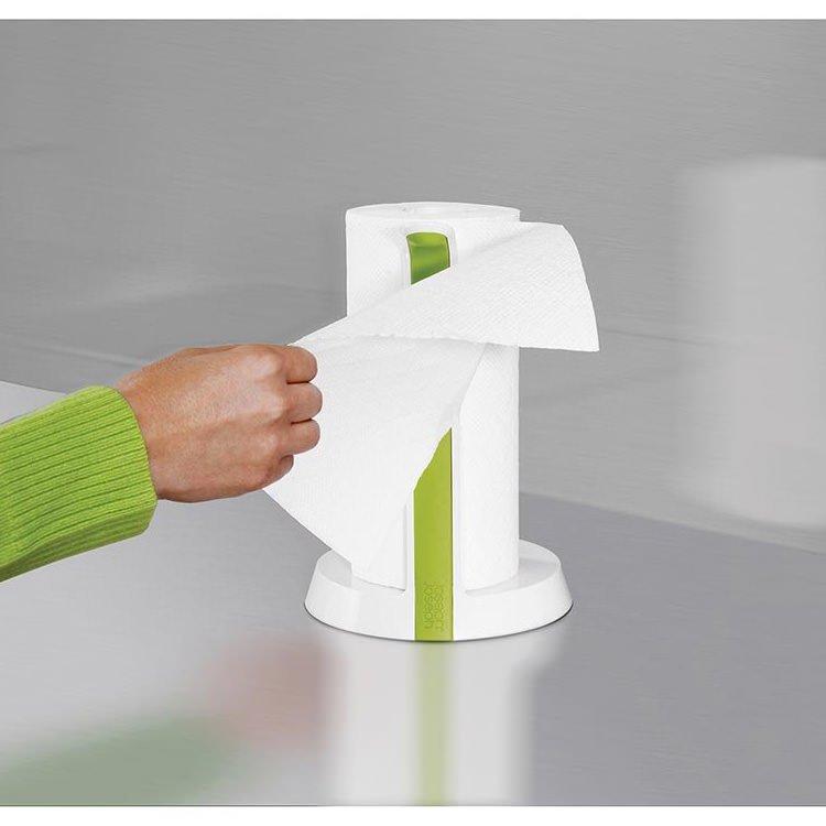 Joseph Joseph Easy Tear Kitchen Roll Holder White/Green image #4
