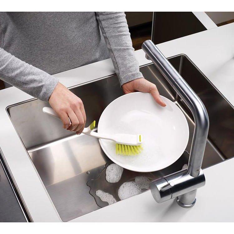 Joseph Joseph Edge Dish Brush with Sink Rest