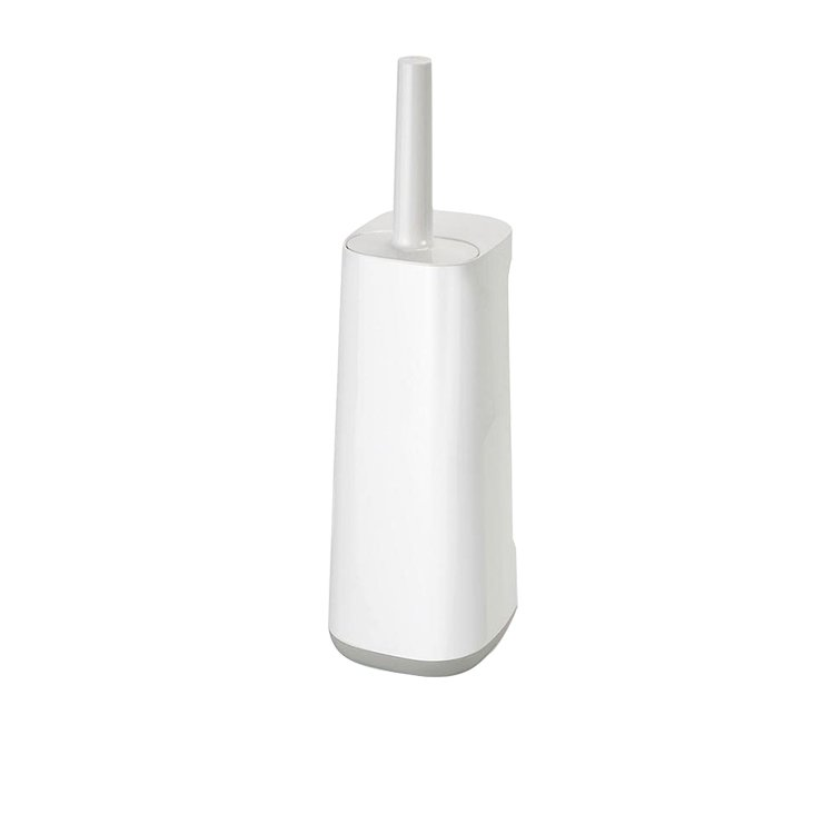 Joseph Joseph Flex Plus Smart Toilet Brush with Storage Bay Grey