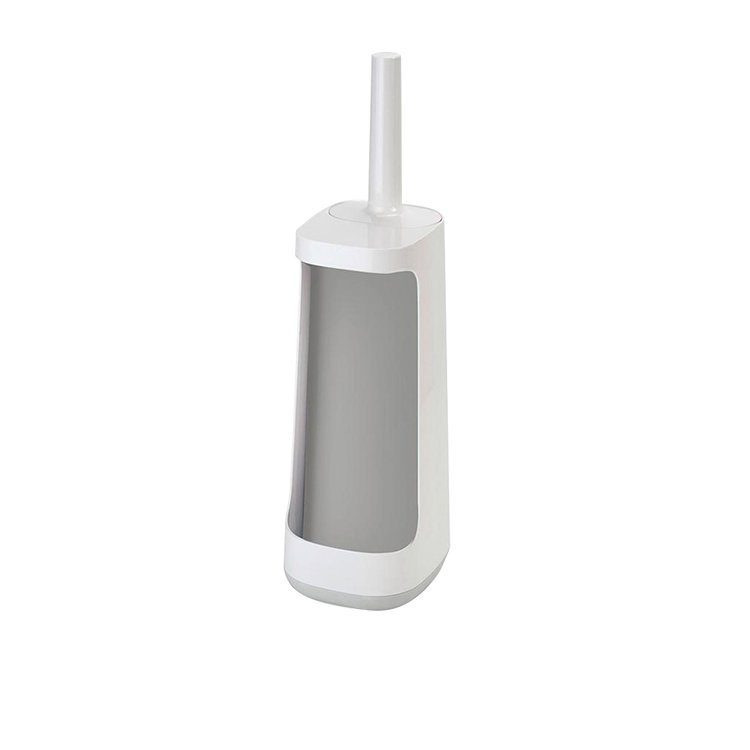 Joseph Joseph Flex Plus Smart Toilet Brush with Storage Bay Grey