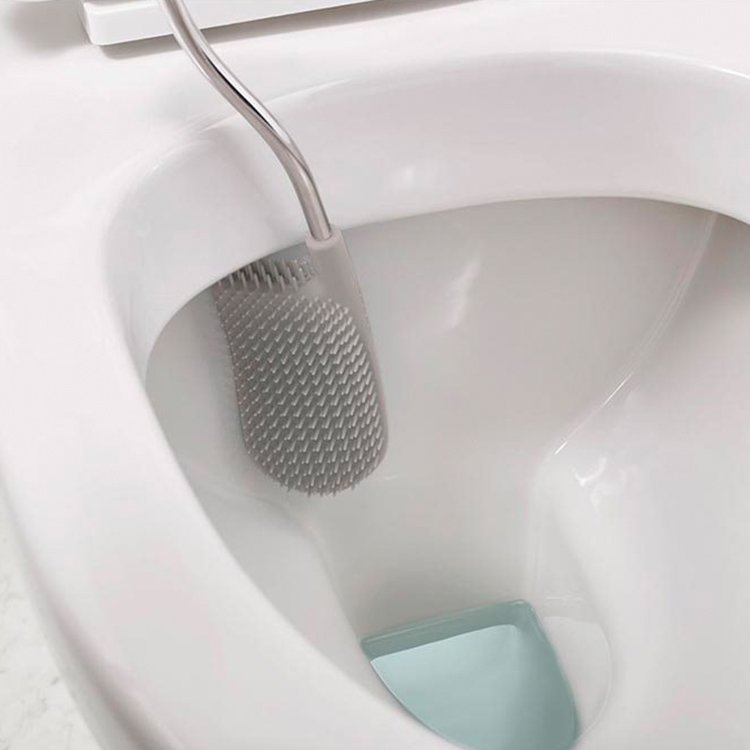 Joseph Joseph Flex Smart Toilet Brush Grey