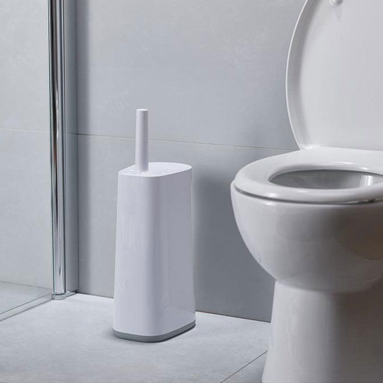 Joseph Joseph Flex Toilet Brush w/ Large Storage Caddy Grey/White image #5