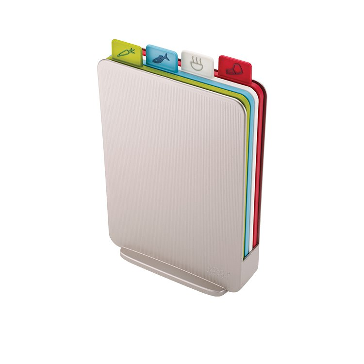 Joseph Joseph Index Compact Chopping Board Silver