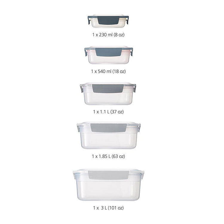 Joseph Joseph Editions Nest Lock Storage Container Set Sky