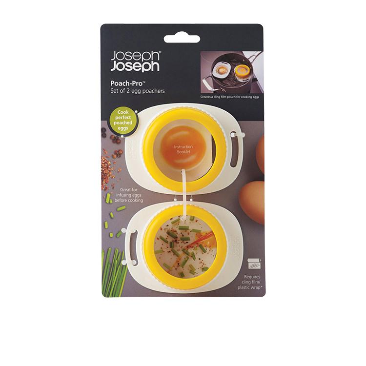 Joseph Joseph Poach-Pro 2 Egg Poachers Set of 2