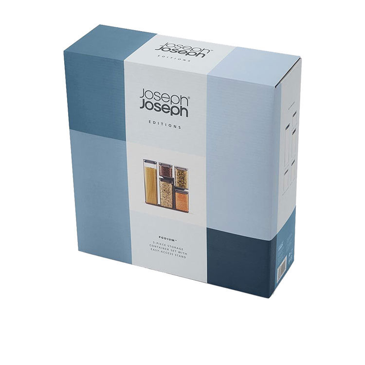 Joseph Joseph Editions Podium Storage Container Set 5pc Sky image #3
