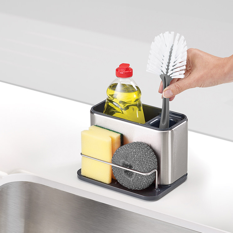 Joseph Joseph Surface Sink Tidy Stainless Steel