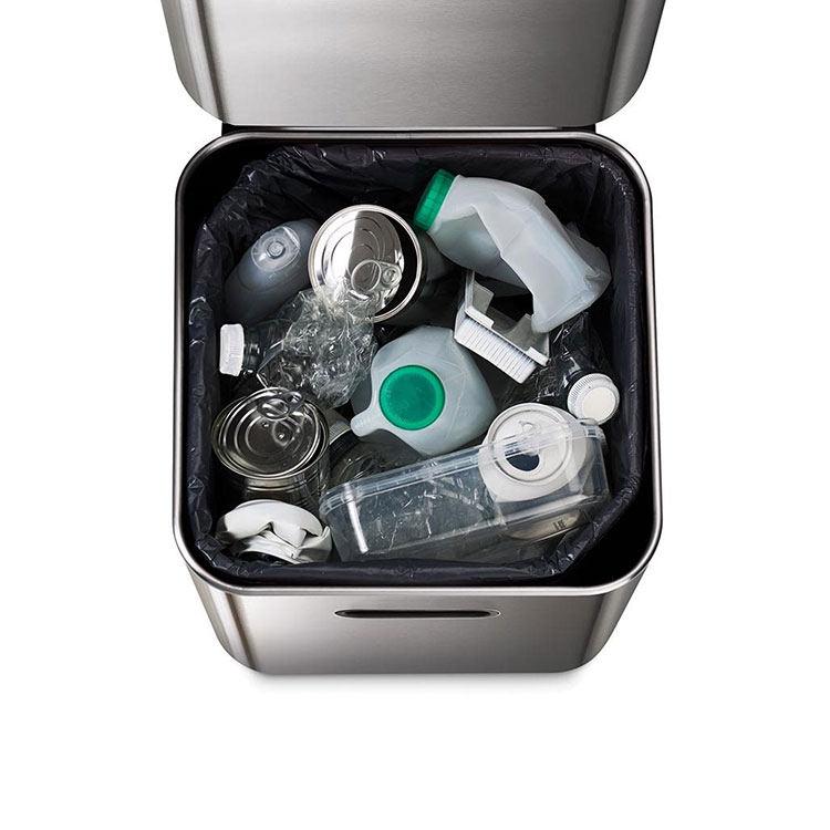 Joseph Joseph Totem Compact Waste & Recycling Bin 40L