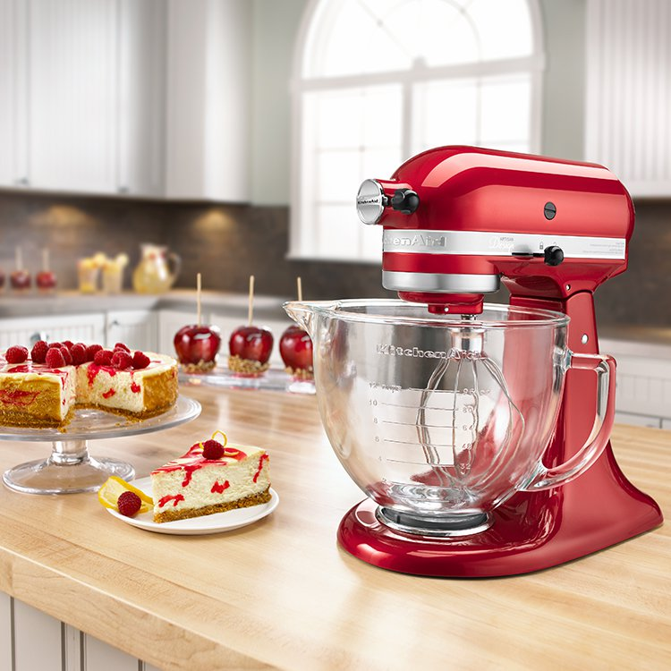 KitchenAid Platinum Collection KSM170 Stand Mixer Candy Red