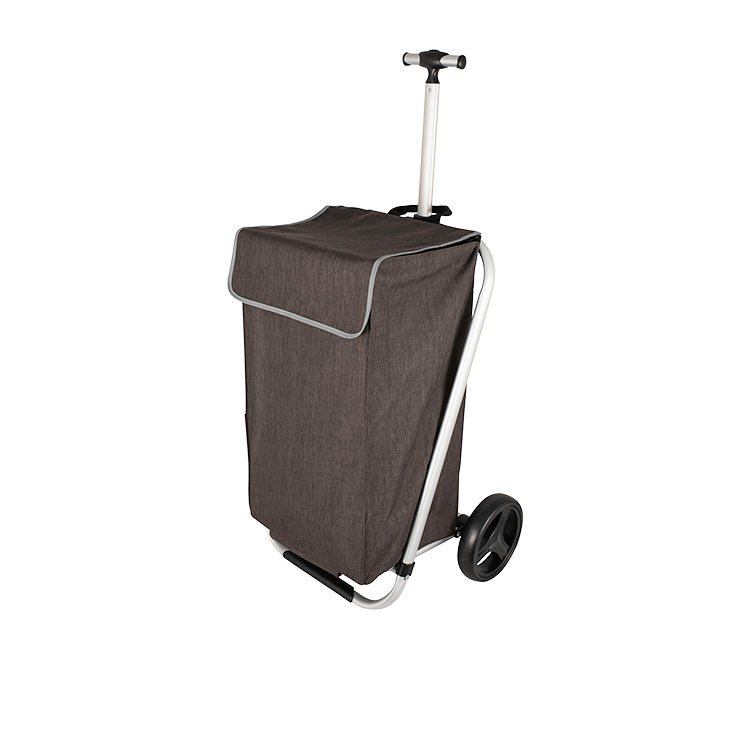 Karlstert Telescopic Handle Shopping Trolley Bronze