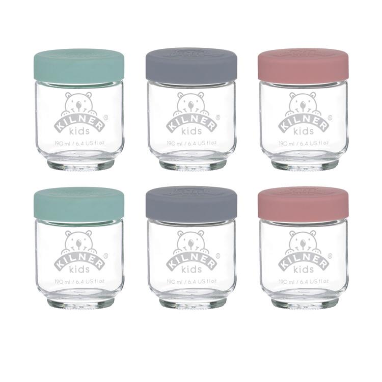 Kilner 6pc Kids Jar Set 190ml