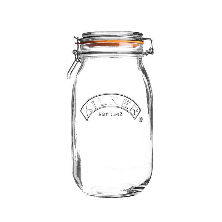 Kilner Clip Top Round Jar 2L