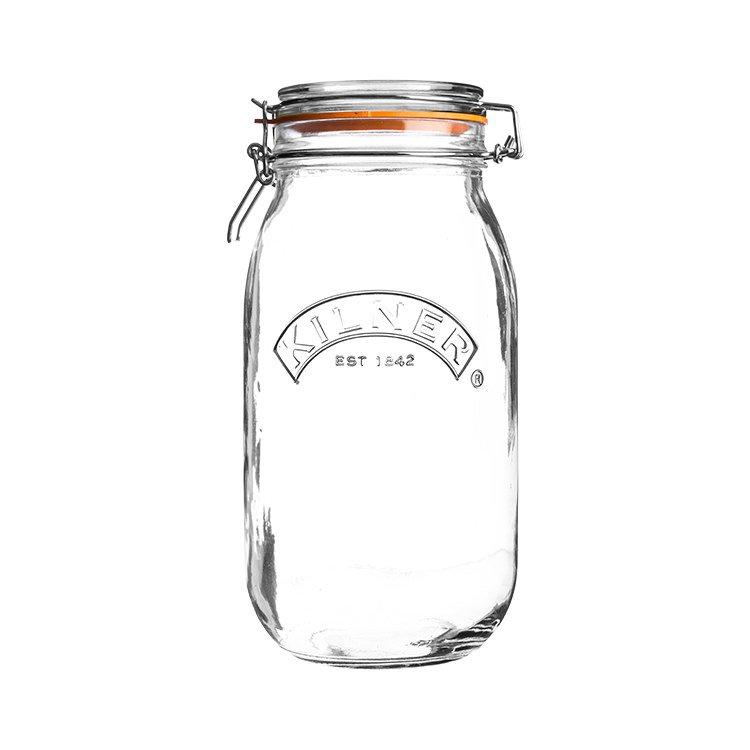 Kilner Clip Top Round Jar 3L