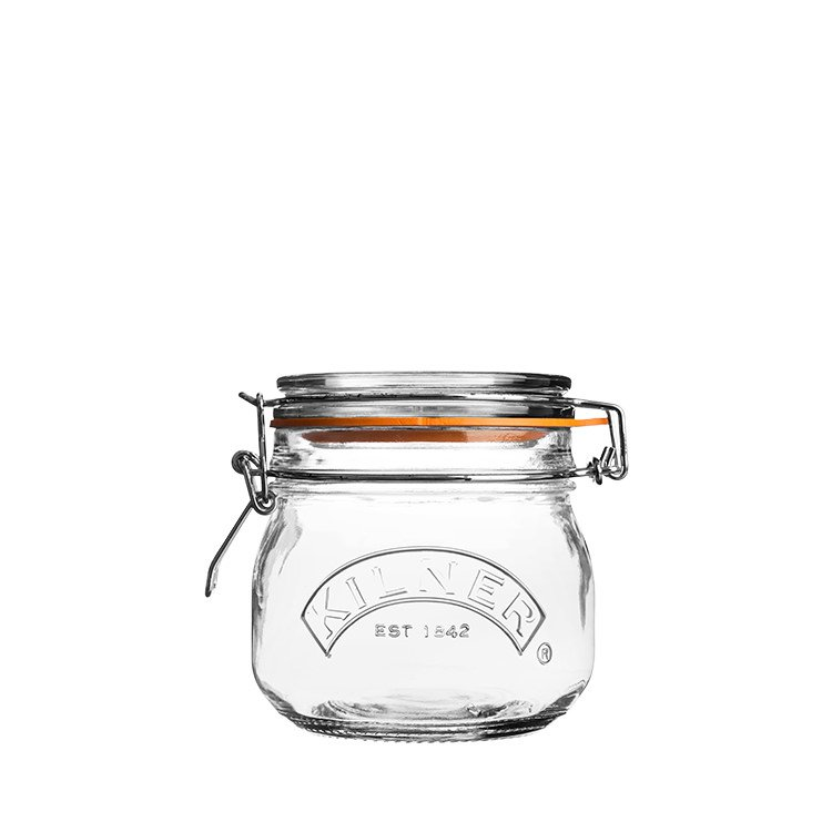 Kilner Clip Top Round Jar 500ml