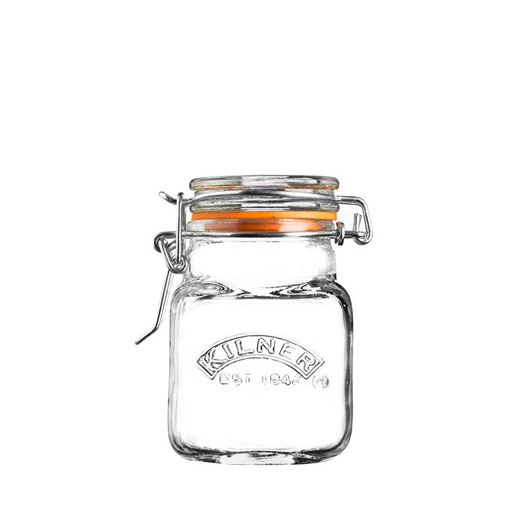 Kilner Clip Top Square Spice Jar 70ml
