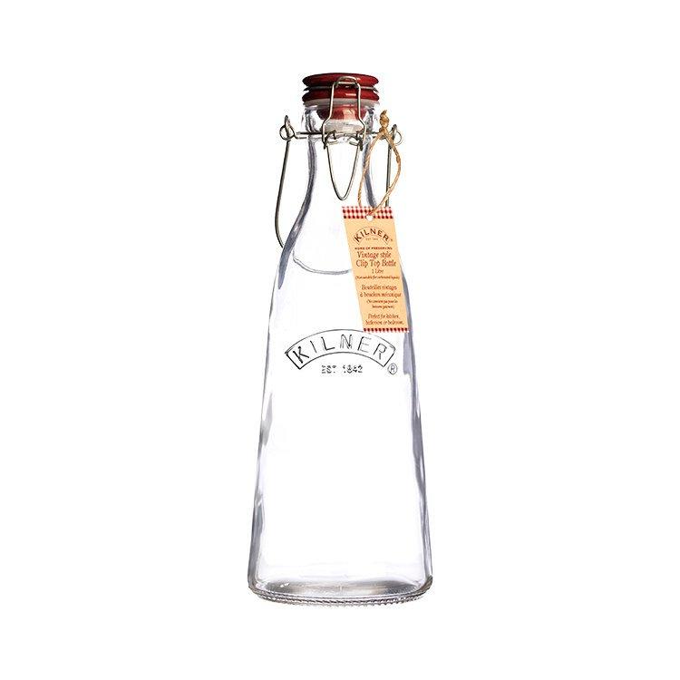 Kilner Clip Top Vintage Bottle 1L