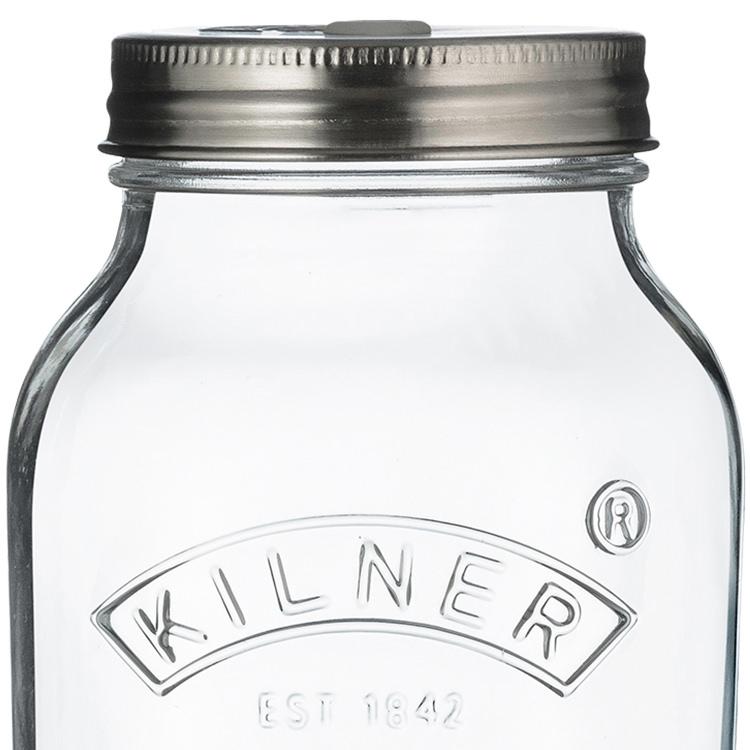 Kilner Fermentation Jar 1L Set of 2