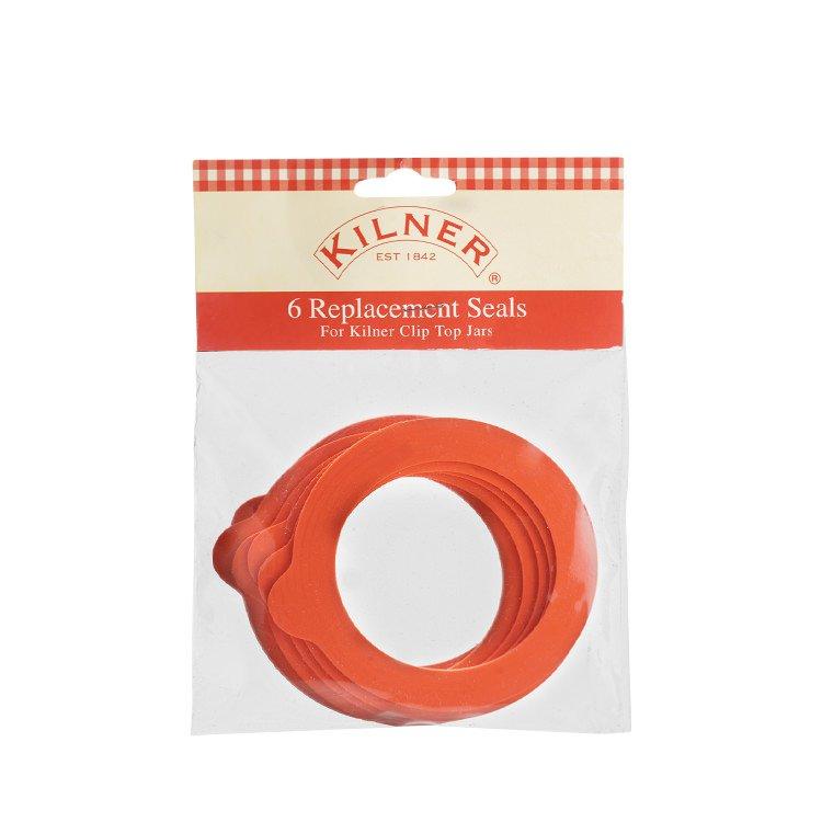 Kilner Standard Rubber Seals Pack of 6