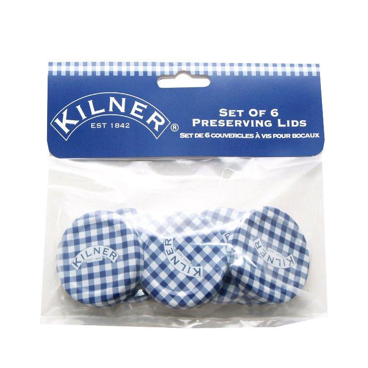 Kilner Twist Top Lids 48mm Pack of 6