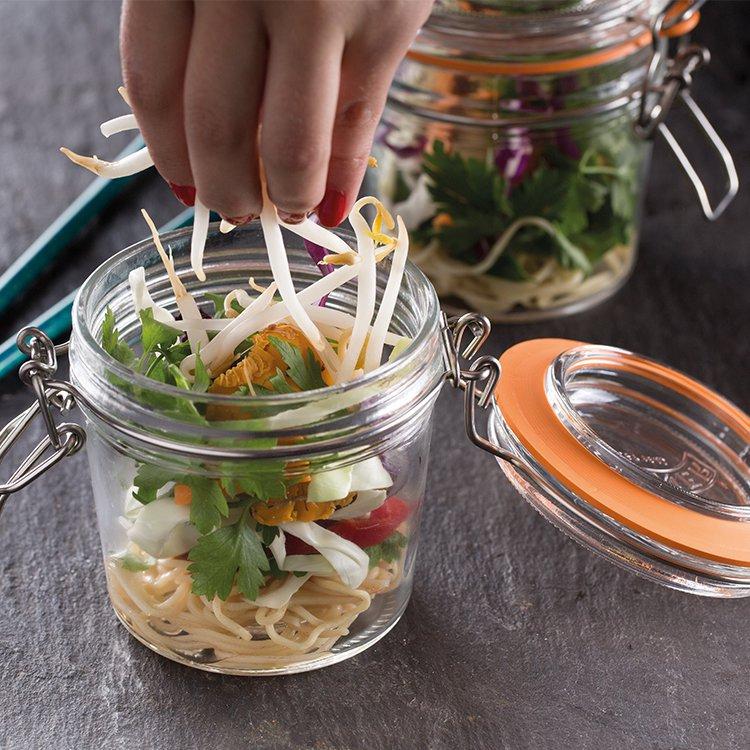 Kilner Clip Top Round Jar 350ml image #4