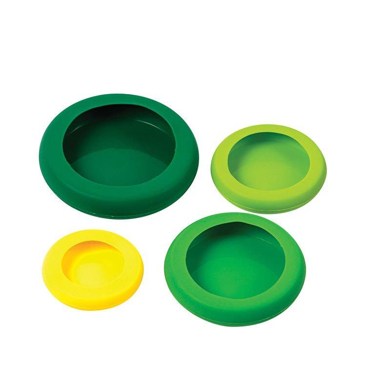 Avanti Fruit & Vegetable Saver/Hugger Set of 4 Green/Yellow