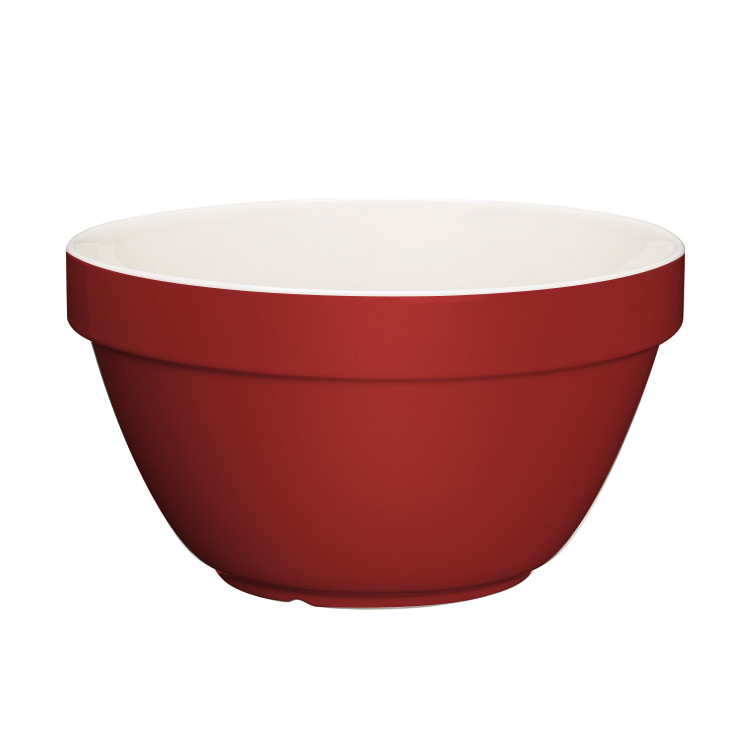Kitchen Craft Home Made Pudding Basin Red 1.5L