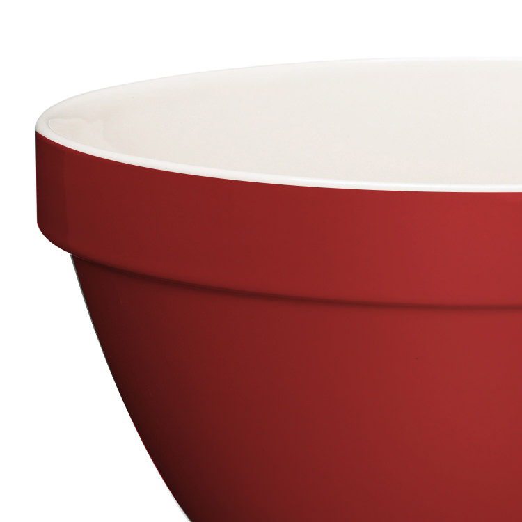 Kitchen Craft Home Made Pudding Basin Red 1L