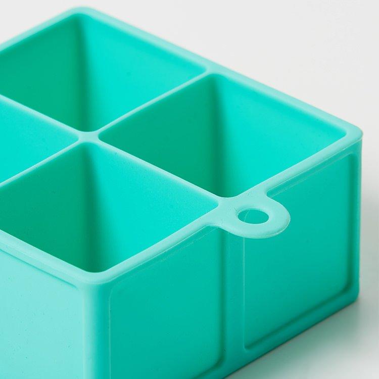 Kitchen Pro 4 Cube Jumbo Silicone Ice Tray