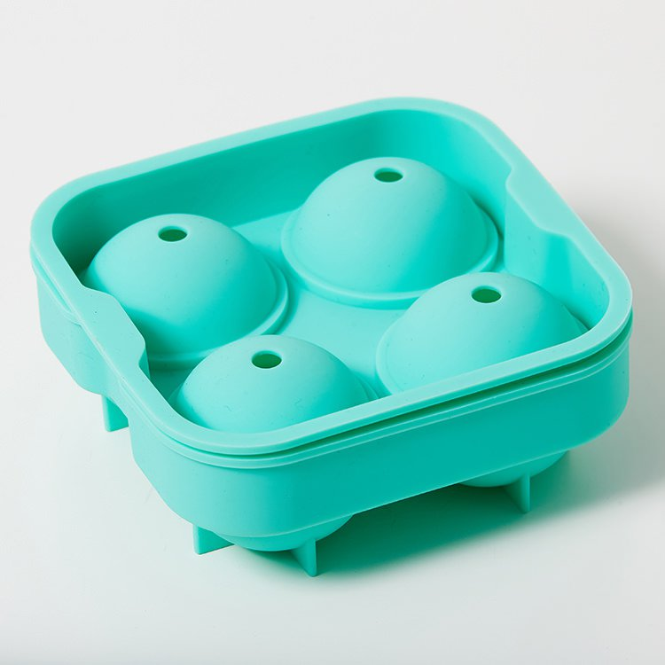 Kitchen Pro 4 Sphere Silicone Ice Tray