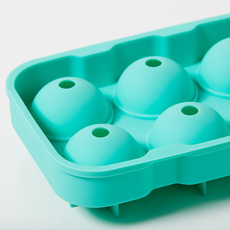 Kitchen Pro 6 Sphere Silicone Ice Tray