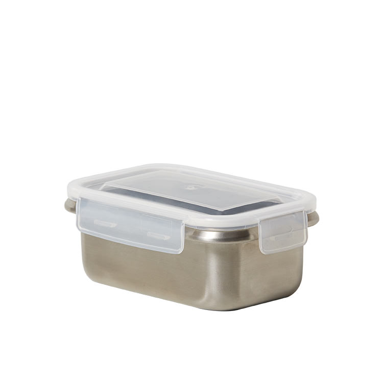 Kitchen Pro Boston Stainless Steel Food Storage Container 500ml