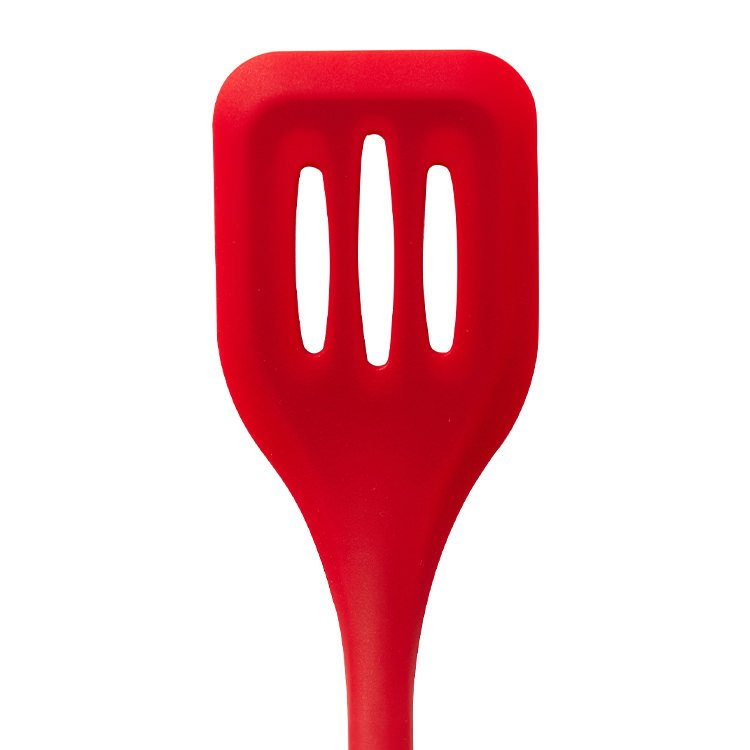Kitchen Pro Oslo Silicone Slotted Turner Red