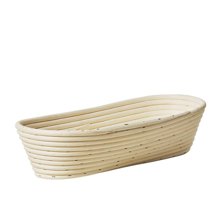 Kitchen Pro Rattan Oval Bread Proving Basket Large