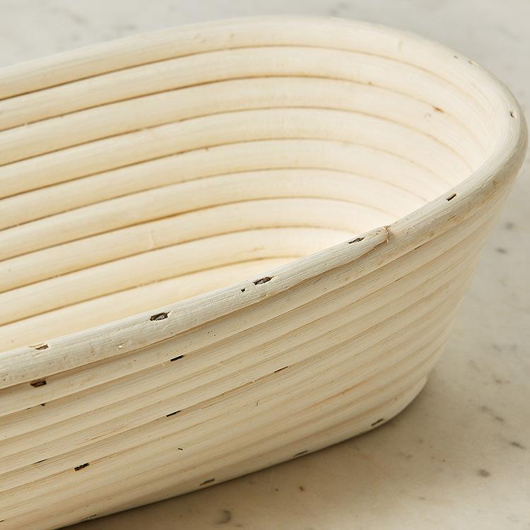 Kitchen Pro Rattan Oval Bread Proving Basket 40x16x9cm image #3