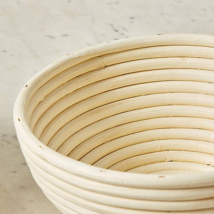 Kitchen Pro Rattan Round Bread Proving Basket 22x8.5cm image #3