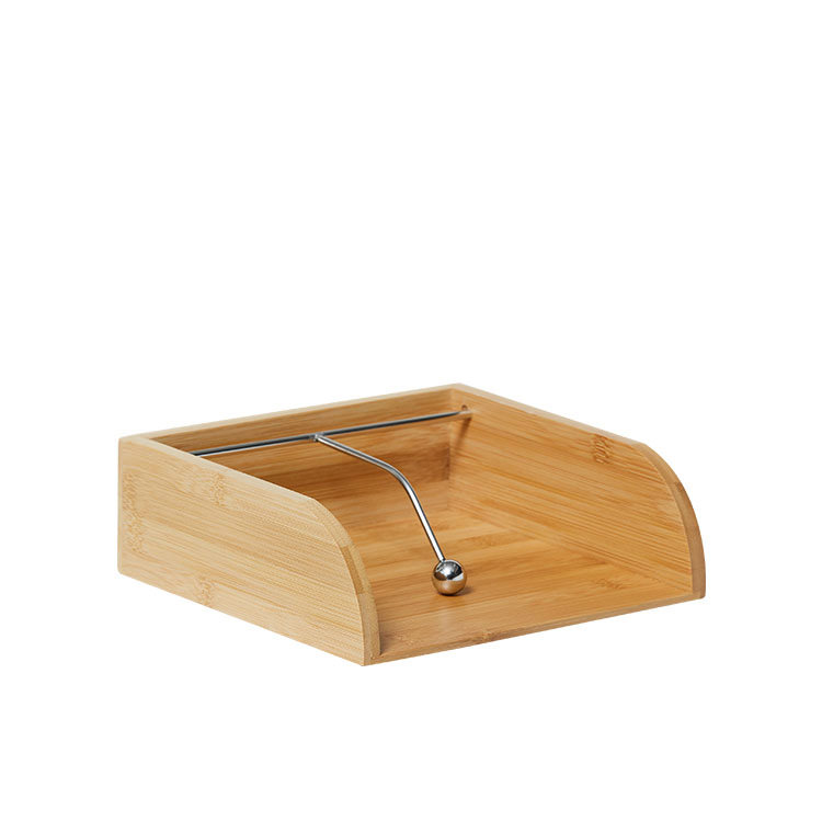 Kitchen Warehouse Bamboo Napkin Holder 21x20cm Natural