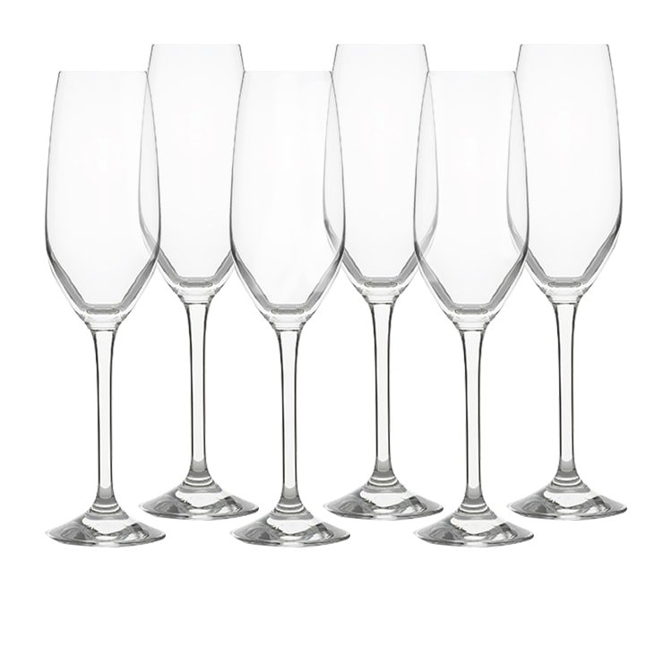 Kitchen Warehouse Champagne Flute 205ml Set of 6