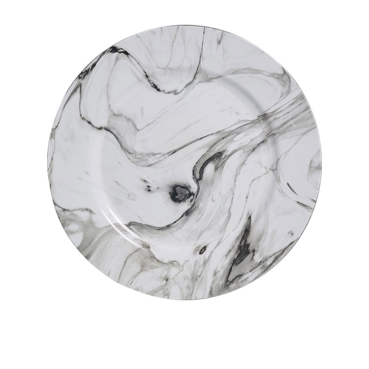 Kitchen Warehouse Charger Plate 33cm Marble