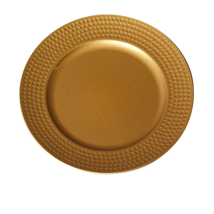 Kitchen Warehouse Charger Plate 33cm Gold