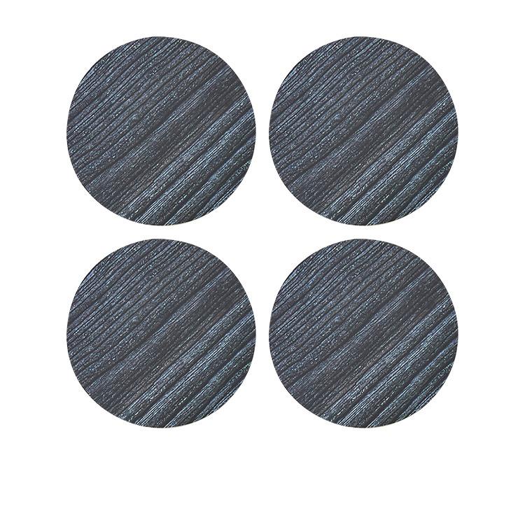 Kitchen Warehouse Forest Round Coaster Set of 4 Black