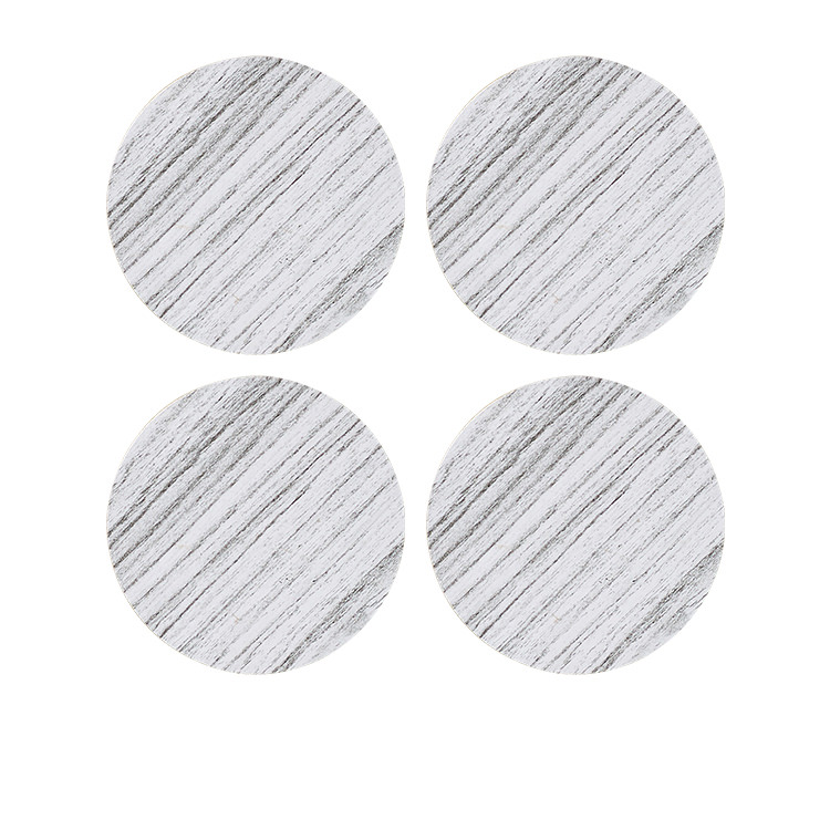 Kitchen Warehouse Forest Round Coaster Set of 4 White
